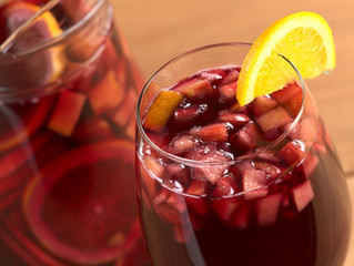A Holiday and Wintery Twist on Sangria