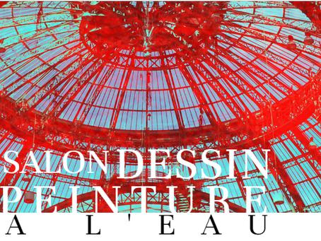 11-16 Février 2020 au Grand Palais -  Salon du Dessin et de la Peinture a l'eau