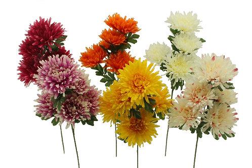 MUM SPRAY X 5 W/5 FLOWERS
