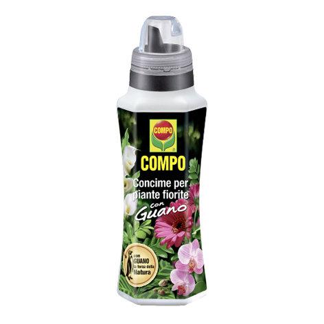 COMPO - Concime per piante fiorite con guano 1L