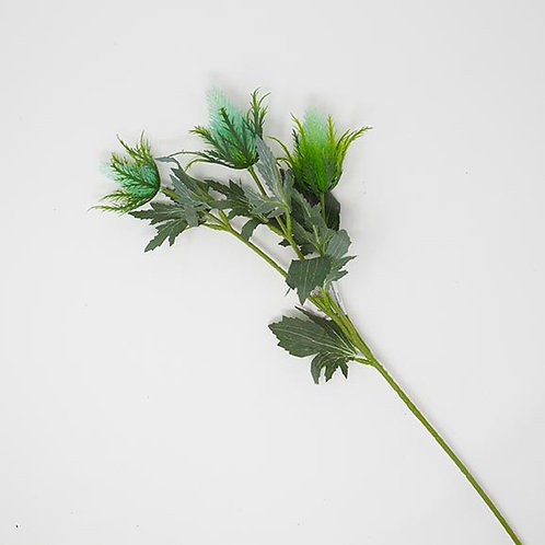 "26.5"" SEA HOLLY SPRAY X 3"
