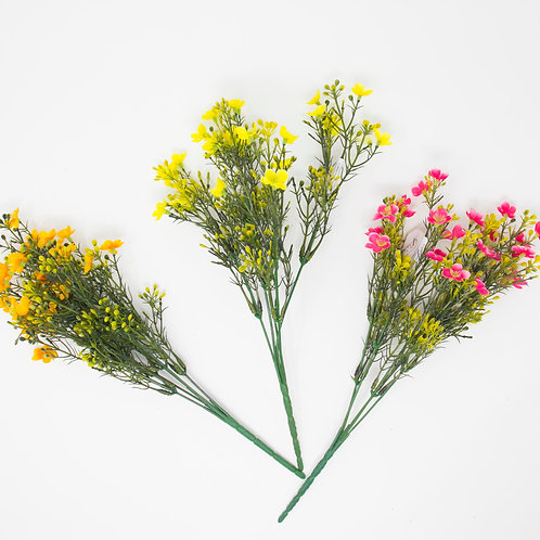 MINI FLOWER/BERRY BUSH X 5