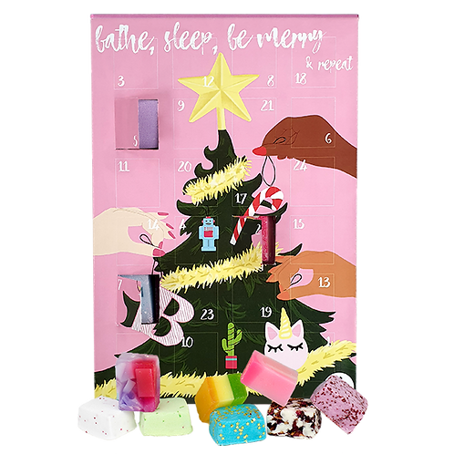 Bathe, Sleep, Be Merry & Repeat Advent Calendar Gift Pack