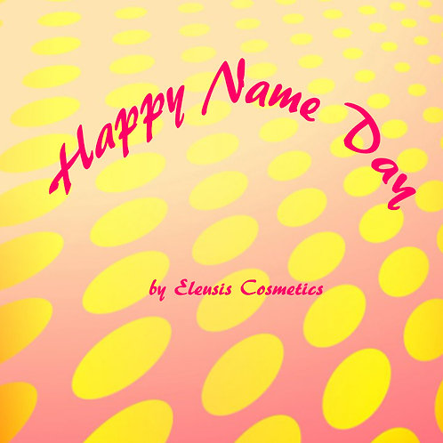 Happy name day e-giftcard