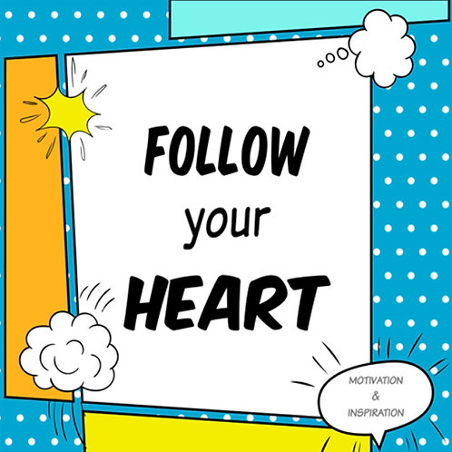 Follow your heart e-giftcard