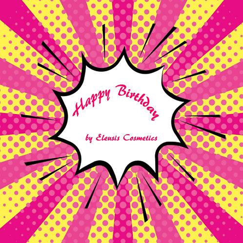 Happy Birthday e-giftcard