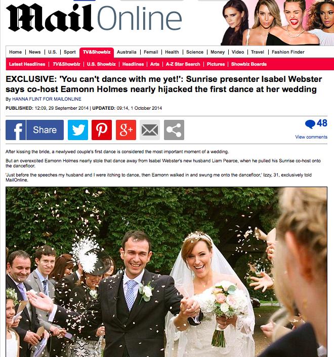 Mail Online, Sept 2014