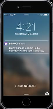 Balto Chat Notification