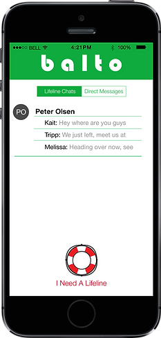 Balto Chat Messages
