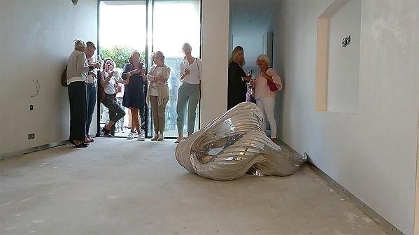 Artist Iris Woutera - Title Deform Reflect - Location SCHUIT gallery - year 2017