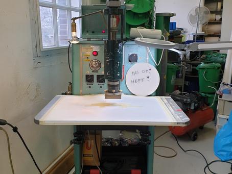 Coaching trajectory Nieuw & Meer: HF-welding / airtight sculptures