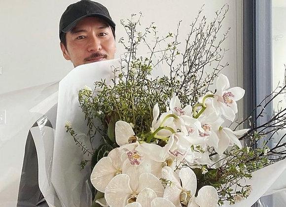 Seasonal floral bouquet