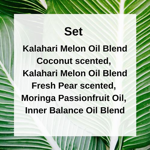 Kalahari Melon Oils & Moringa Oils