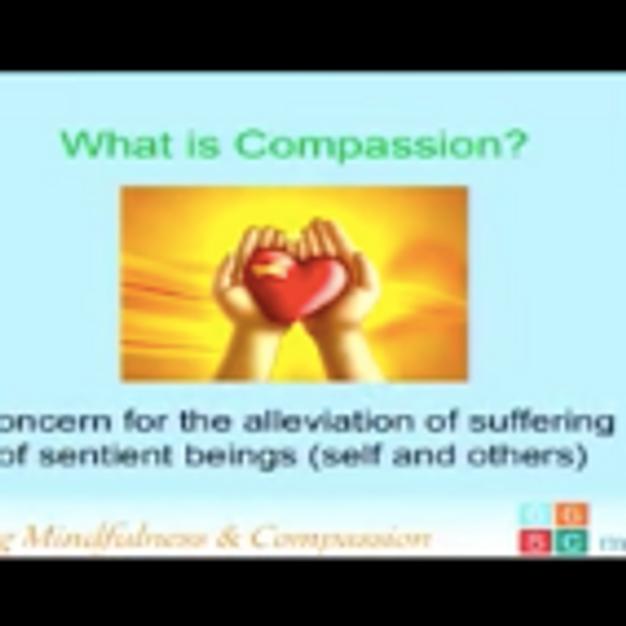 """Mindfulness and Self-Compassion"""