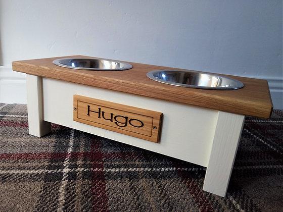 2-Bowl Dog Feeding Station
