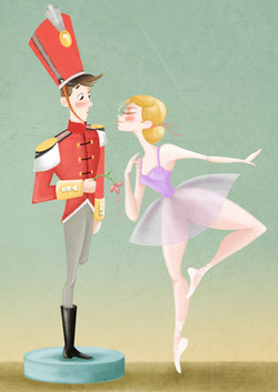 The tiny soldier and dancer