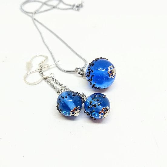 Parure Luna bleue