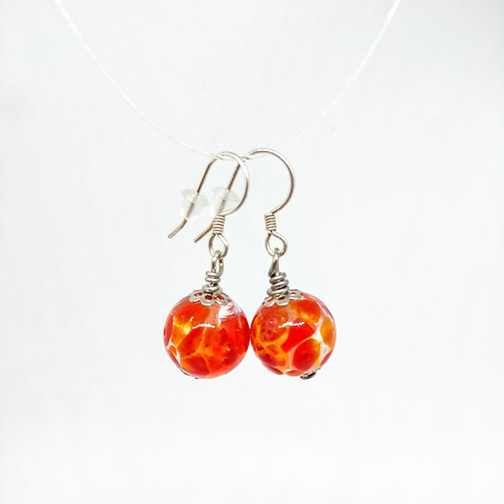 Boucles d'oreilles transparence AT