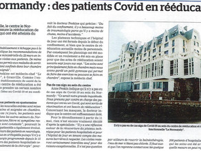 Le Normandy : Des patients Covid en rééducation