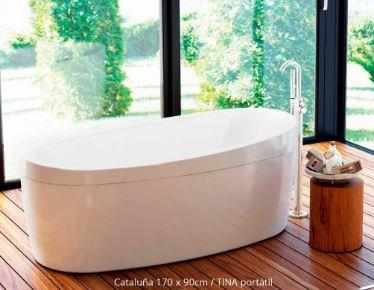 Tina de baño Cataluña isla