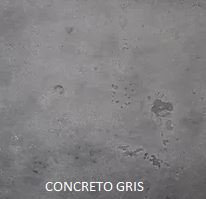 Piedra flexible natural Stoneflex- tipo concreto gris