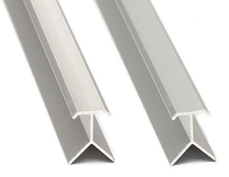 Perfil aluminio Guardacanto flecha 8mm