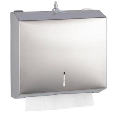 Dispensador rectangular para toallas de mano