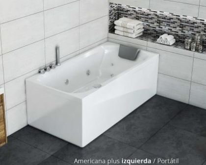 Bañera para hidromasaje Americana Plus 152x75