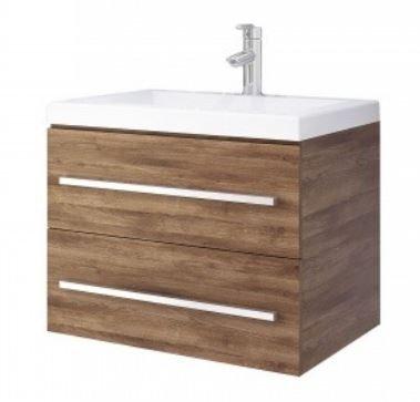 Mueble de baño en combo- Lavamanos Bari - Mueble Misus 63x48