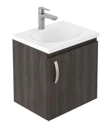 Mueble de baño en combo- lavamanos Eco+Mueble básico elevado 48x38