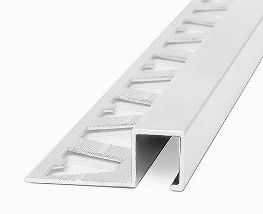 Perfil aluminio guardacanto Quadra