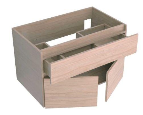 Mueble de baño en combo- Mueble Macao+ Lavamanos Bari 79x48