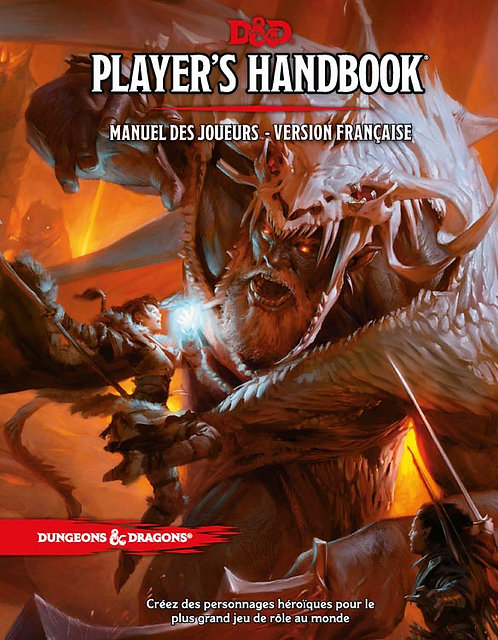 D&D Player's Handbook Manuel des Joueurs VF