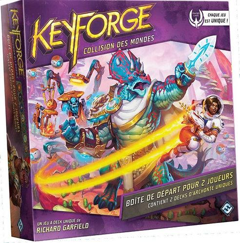 Keyforge COLLISION des MONDES - Set de démarrage