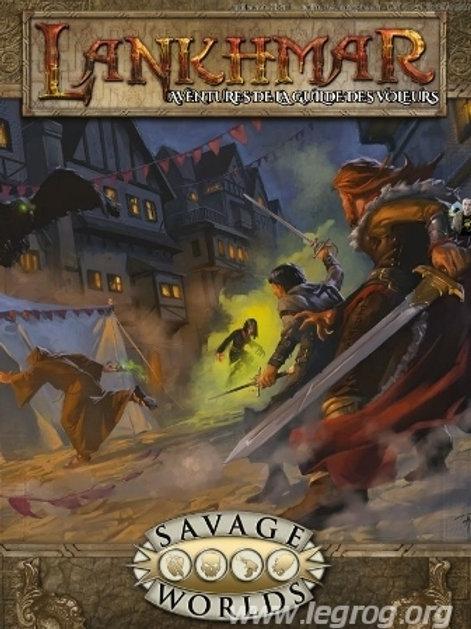 SAVAGE WORLDS Lankhmar, Aventures de la Guilde des Voleurs OCCASION (A)