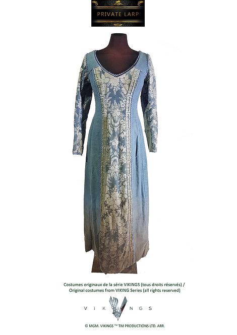 Robe Longue Bleue JUDITH