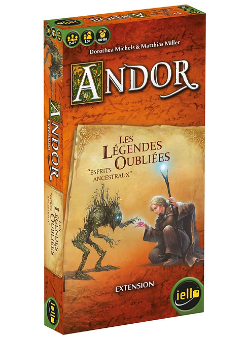 ANDOR EXTENSION : LES LEGENDES OUBLIEES