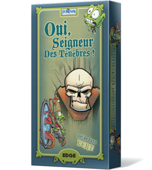 OUI, SEIGNEUR DES TENEBRES- Vert