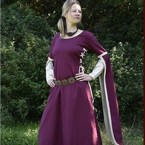 Robe DOROTHE Bordeaux / Naturel (H)