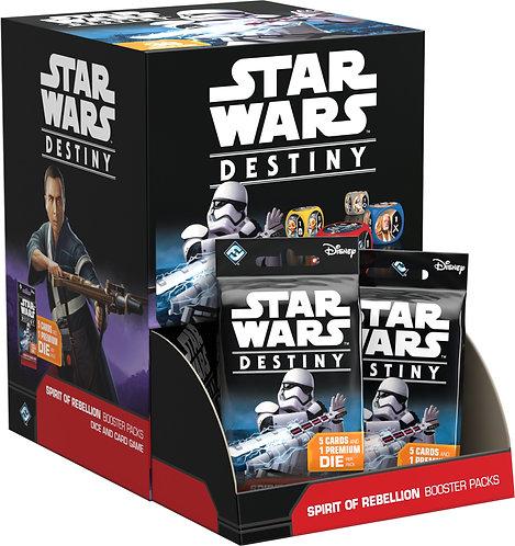 """Star Wars DESTINY """"L'Ame de la Rébellion"""" Boîte de 36 Boosters VF"""