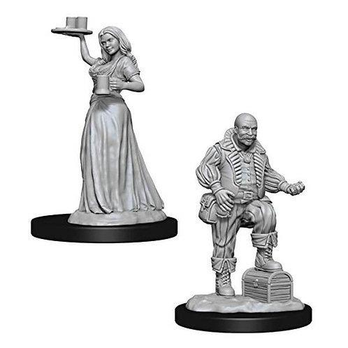 Pathfinder Battles Merchants NEUF (A)