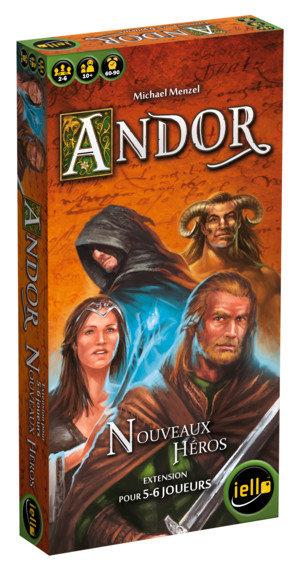 ANDOR Extension : NOUVEAUX HEROS