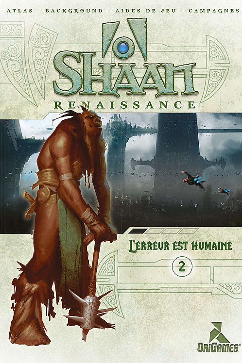 SHAAN L'Erreur est Humaine NEUF (A)