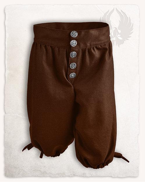 Pantalon TILLY Laine Marron