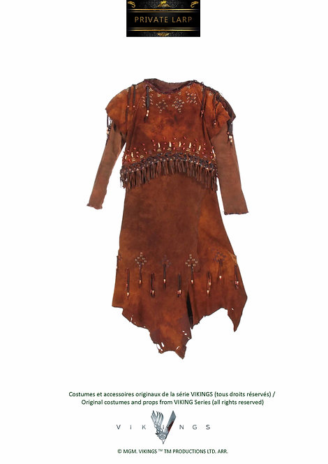 Robe Indienne Manches Longues