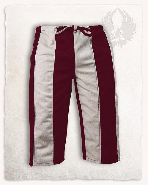 Pantalon JACK Blanc et Rouge