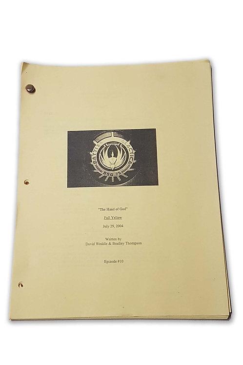 BATTLESTAR GALACTICA Script (L)