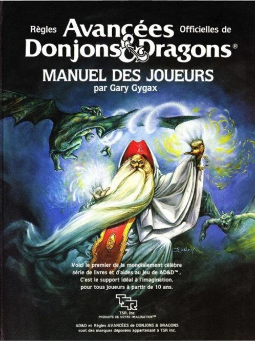 AD&D Manuel des Joueurs OCCASION (A)