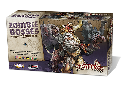 ZOMBICIDE : ZOMBIE BOSSES ABOMINATION PACK