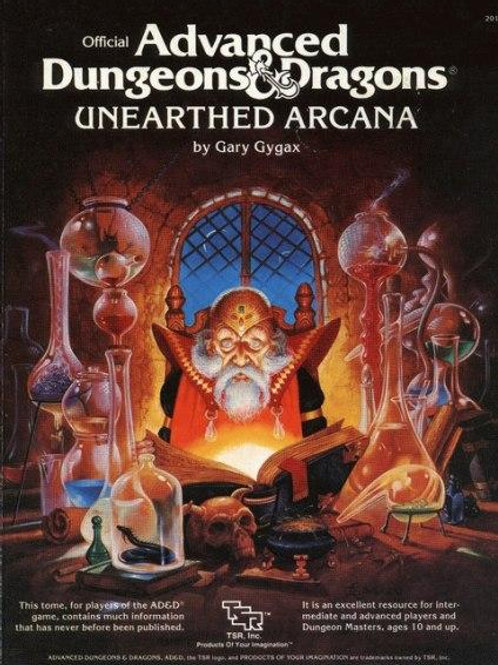 AD&D Unerthed Arcana V.O. OCCASION (A)
